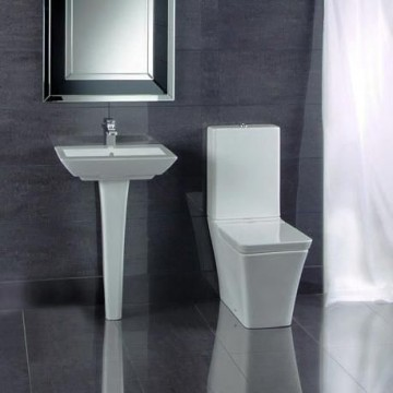 modern toilet basin suite. Black Bedroom Furniture Sets. Home Design Ideas