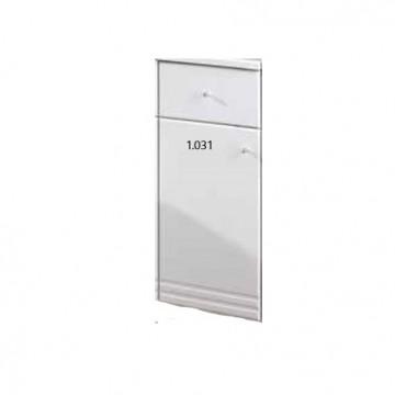 1.030 Bonito 30cm RH base drawer unit White