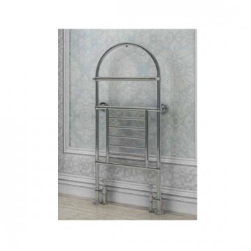 Eastbrook Severn Traditional Heated Towel Rail -1340mm x 600mm - Chrome