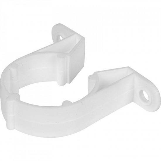 32mm Pipe Clip White (Each)